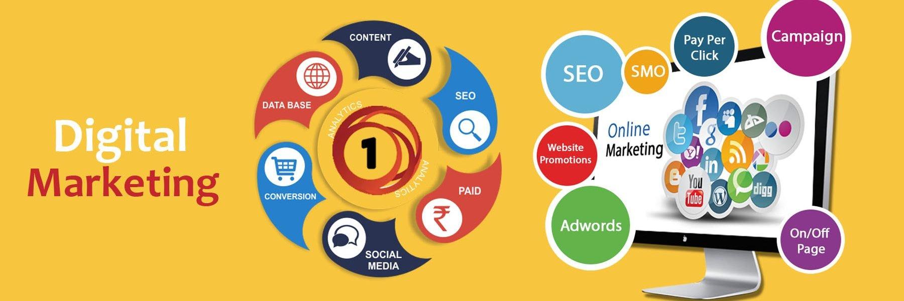 1technologies online marketing company in delhi Digital Marketing digital marketing 1800x600